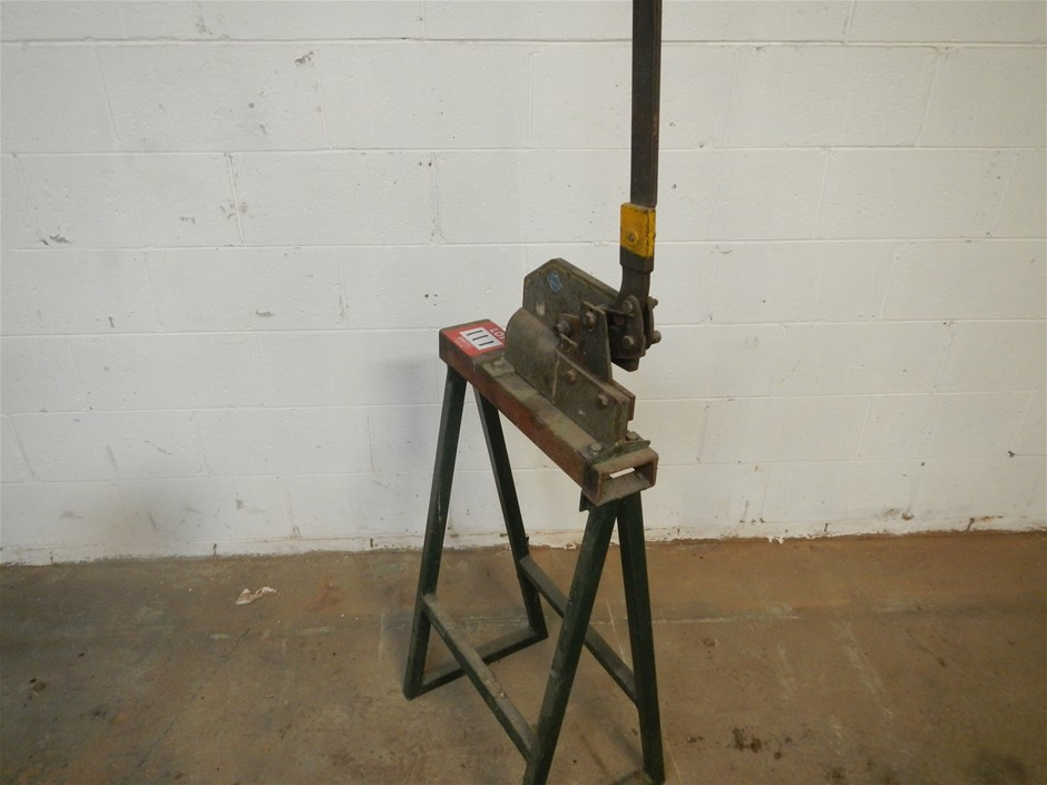 6 inch hand shear on stand