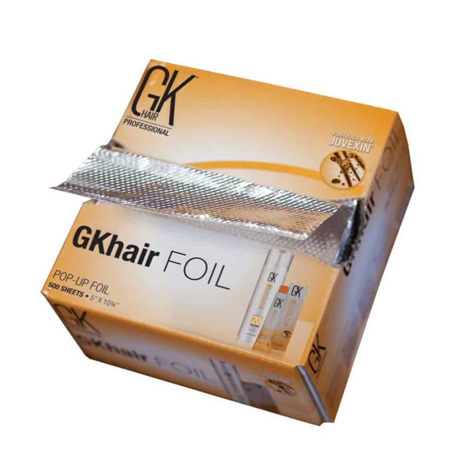 Pack of 5 x GK Hair - GK Hair Foil 500 sheets