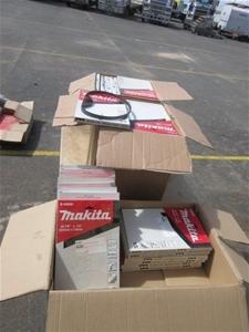 87 x Boxes (5 Per Box) Makita B40559 Ban