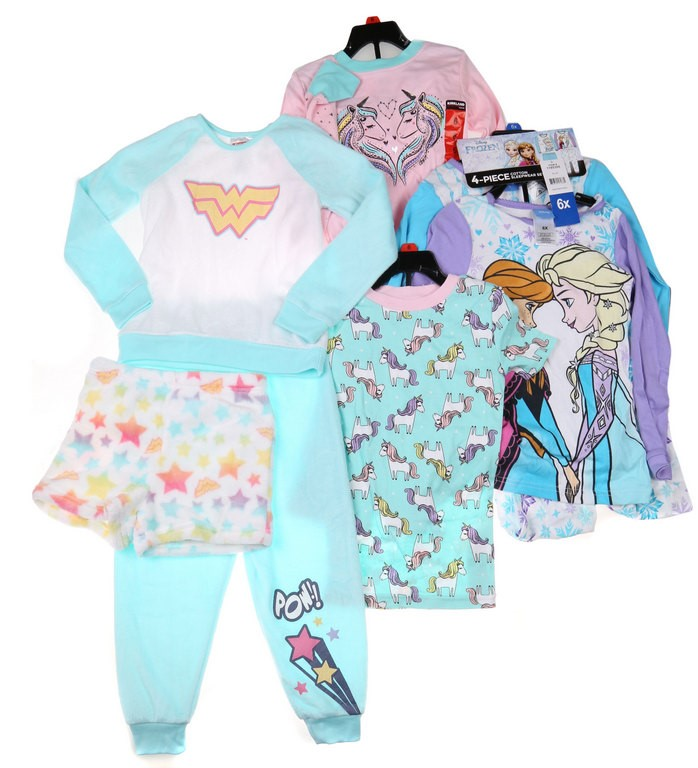 3 Sets x Assorted Girl`s Clothing Set, Size 6, Incl; JUSTICE LEAGUE Wonder