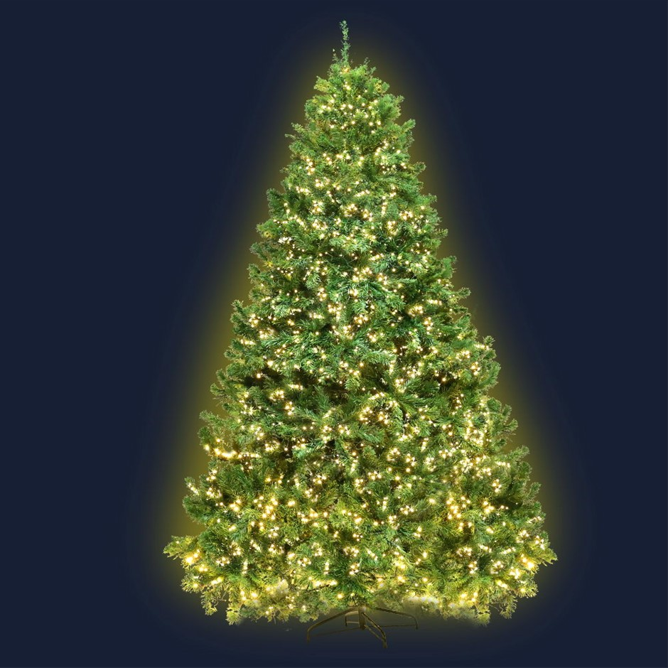 Jingle Jollys 1.8M 6FT Christmas Tree Xmas 1980 LED Lights Warm White 765
