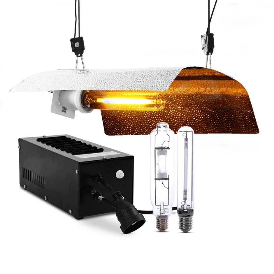Greenfingers 600W HPS MH Grow Light Kit Reflector Hydroponic Grow System