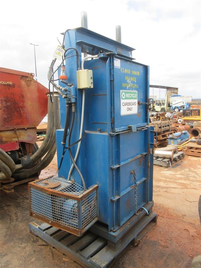 Waddington Holdings Hydraulic Cardboard Baler