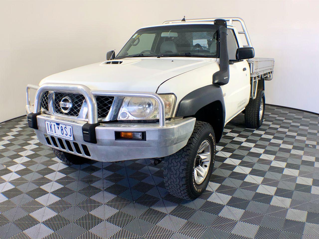 2010 Nissan Patrol DX (4x4) GU 5.7 Litre V8 Manual Cab Chassis 76,600km