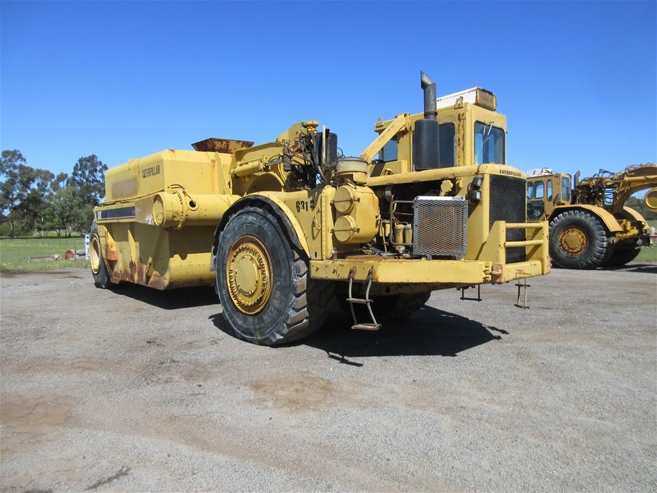 Caterpillar 631B Motor Scraper Water Cart