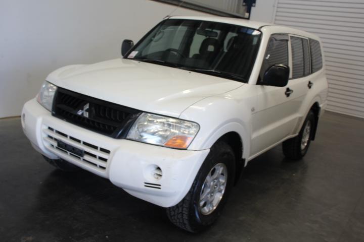 2004 Mitsubishi Pajero GLX LWB (4x4) NP Turbo Diesel Auto 7 Seats Wagon