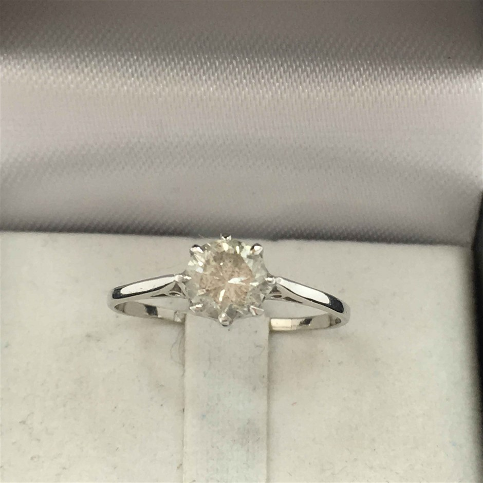0.72ct Ladies Diamond Ring Size M
