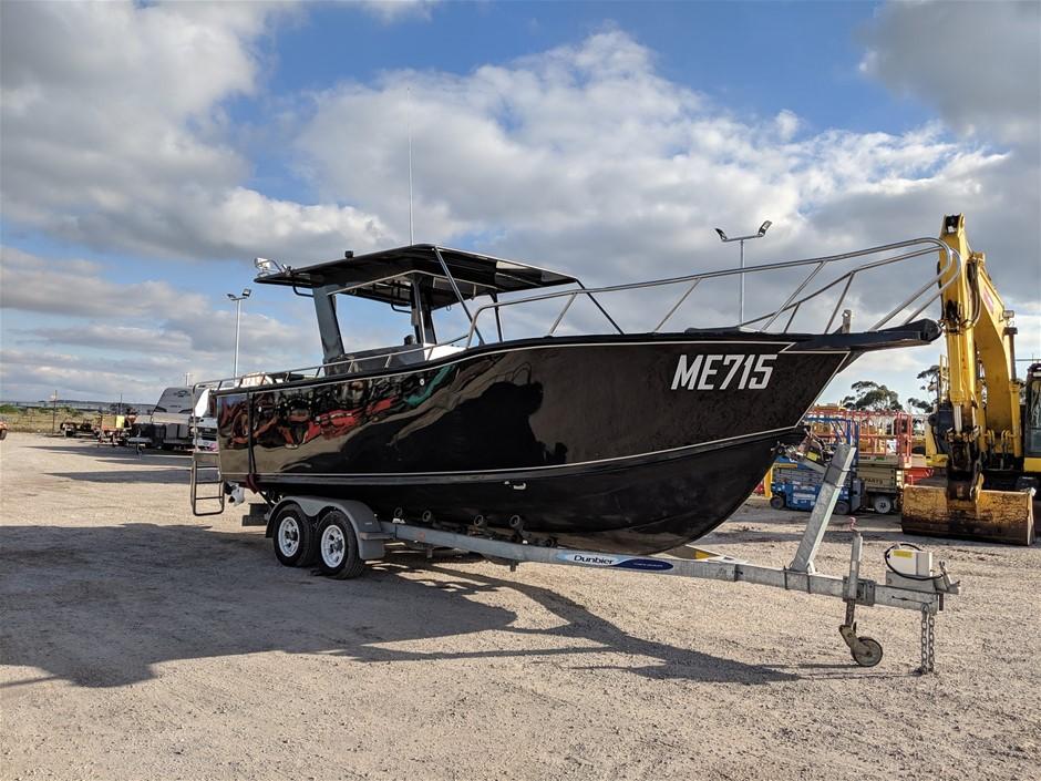 Custom Aluminium Centre Console 7.4m Boat