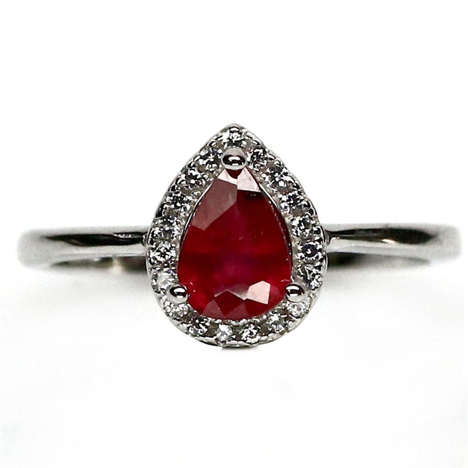 Beautiful Genuine Ruby Ring