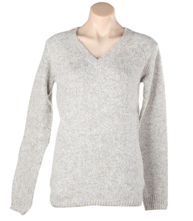 Women`s BUFFALO DAVID BITTON V-Neck Sweater, Size S, Polyester/Cotton/ Acry