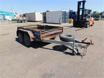 2009 Just Trailers Tandem Box Trailer