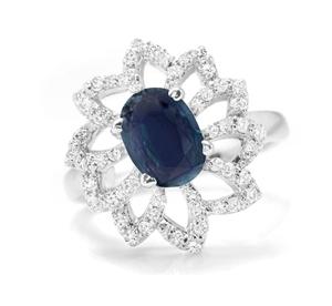 Gorgeous Genuine Midnight Blue Sapphire