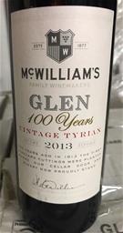 McWilliams Glen Vintage Tyrian 2013 (6 x 500mL)