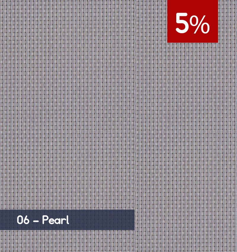 Premium 3m x 30m Roll of Blind - Pearl (5% OPENNESS)