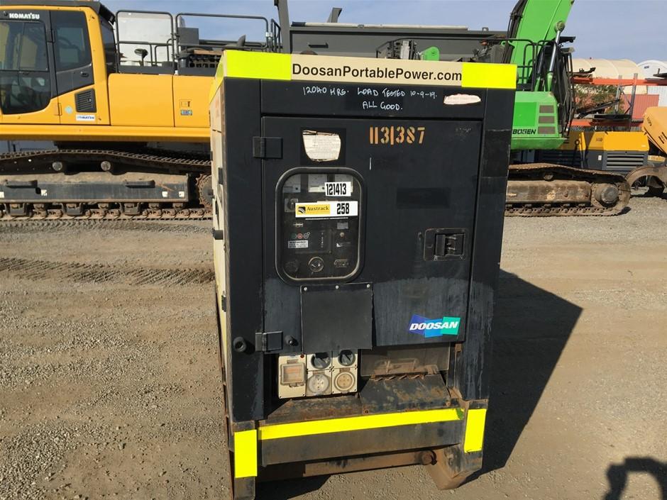 2012 Doosan G40 Diesel Gen Set