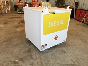 ARS Tank 1000 Ltr Diesel Fuel Cube