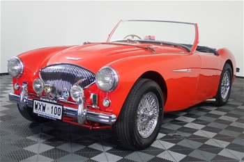 1955 Austin Healey 100 Le Mans Manual Convertible