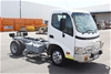 2008 Hino 300 C Cab 4x2 Cab Chassis Truck