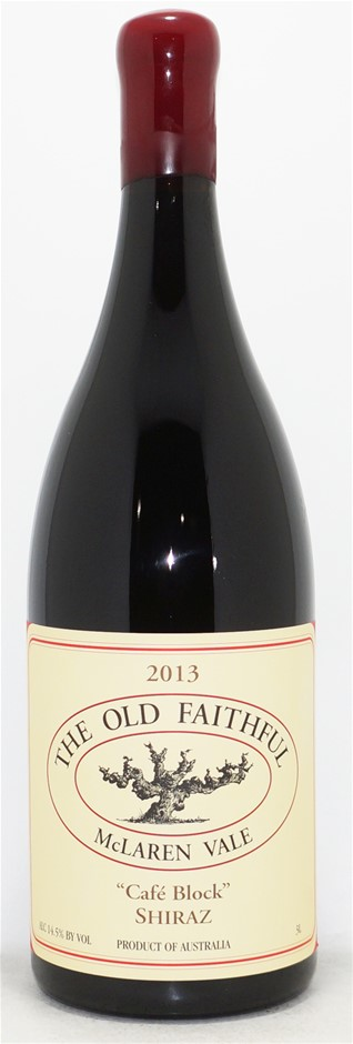 The Old Faithful Cafe Block Shiraz 2013 Double Magnum (1x 3L), McLaren Vale