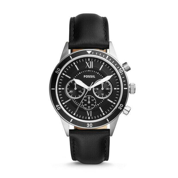 Sporty new Fossil Flynn Chronograph men's watch.