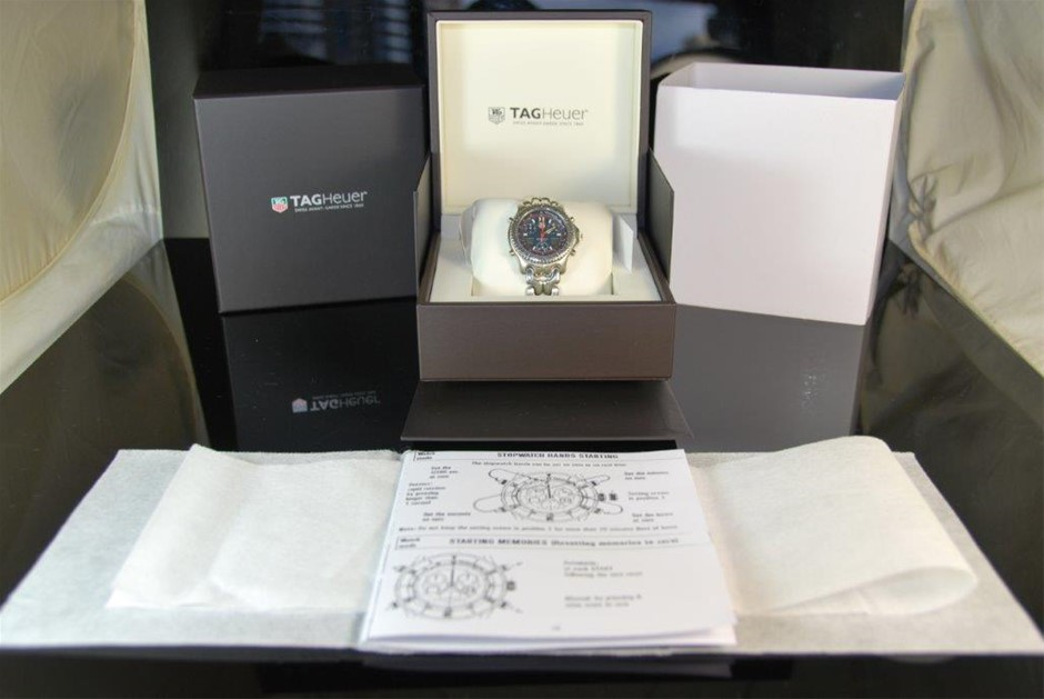 Demo Authentic Gents Tag Heuer LCD S/EL Link