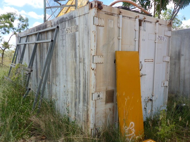 2001 Hyundai 20' Refrigerated Shipping Container (Ngukurr, NT)