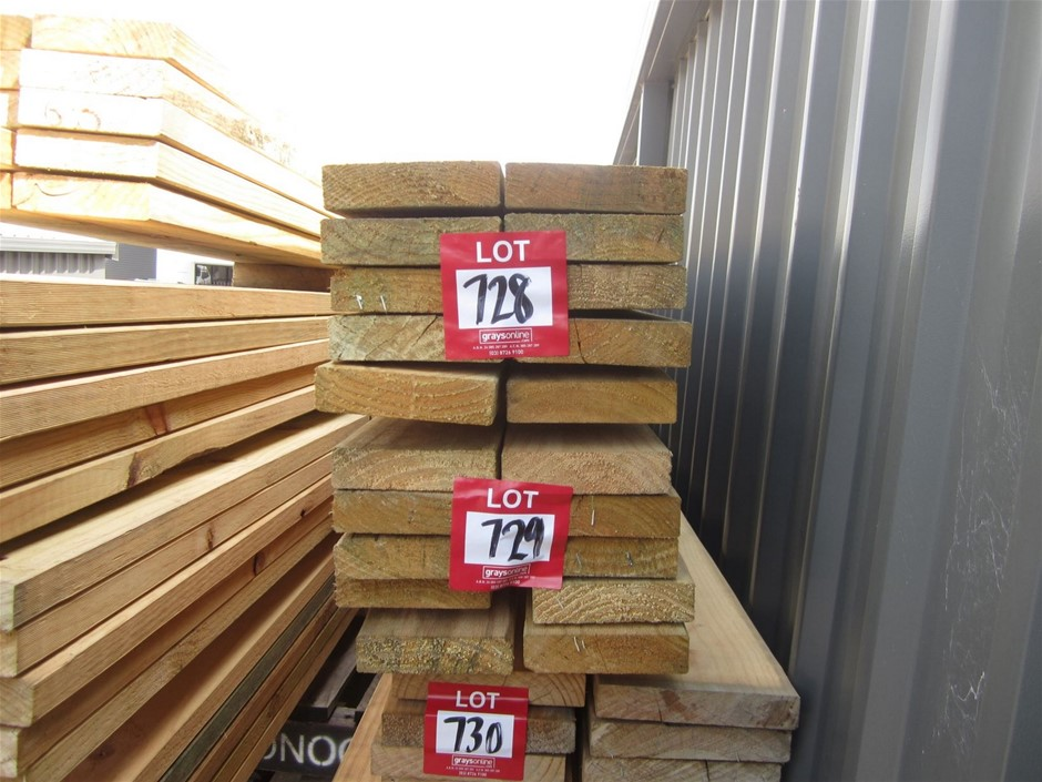 Pack of 120mm x 35mm Treated Pine.