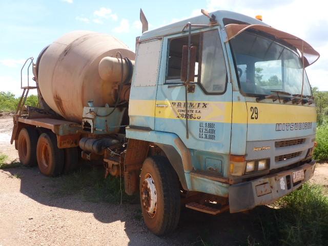 1995 Mitsubishi FV418 6 x 4 Concrete Agitator Truck (Ngukurr, NT)