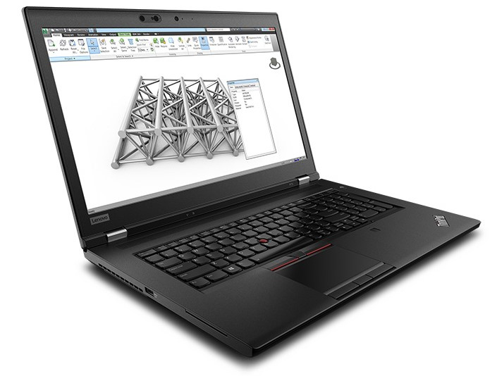 Lenovo ThinkPad P72 17-inch Notebook, Black