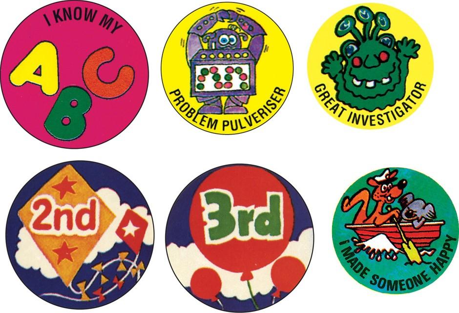 Australian Made Boxes of Merit Stickers (100 stickers per box)