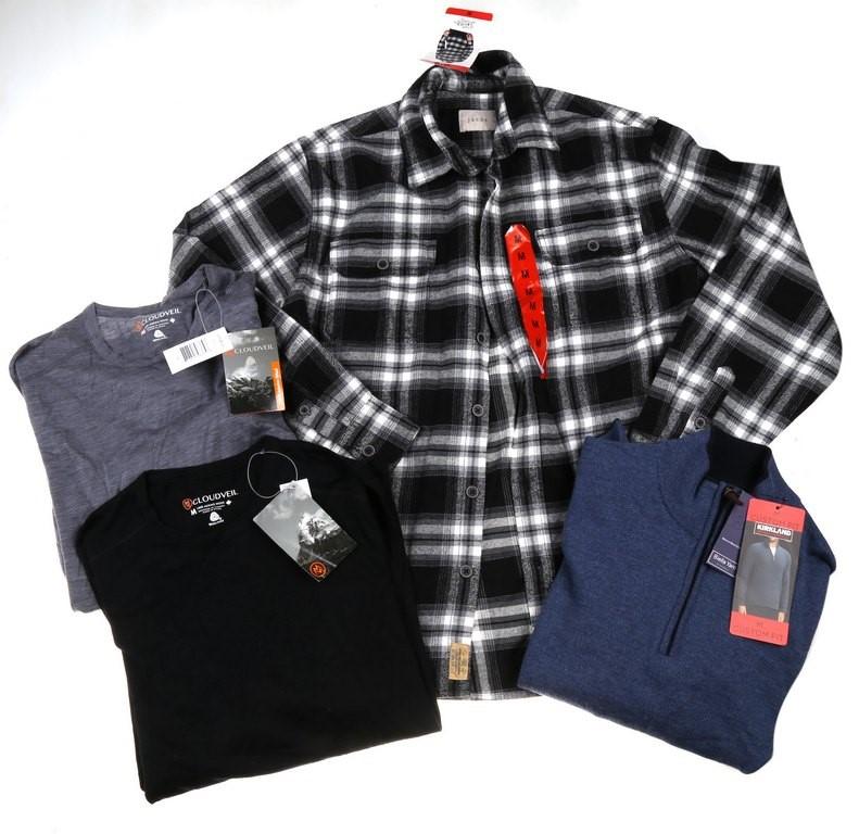 4 x Assorted Men`s Clothing; Comprising; 1 x JACHS Jacket, 1 x SIGNATURE Sw