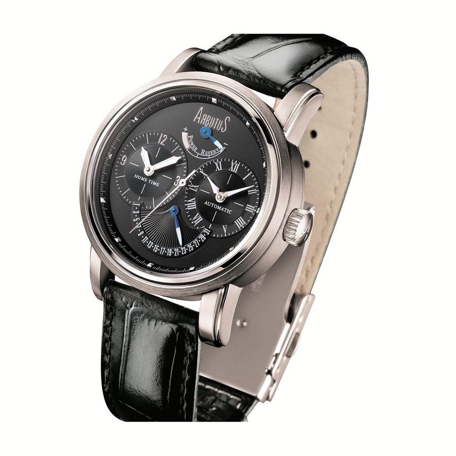 Arbutus New York Automatic watch Power Reserve Retrograde
