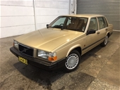 1990 Volvo 740 GL RWD Automatic - 4 Speed Sedan