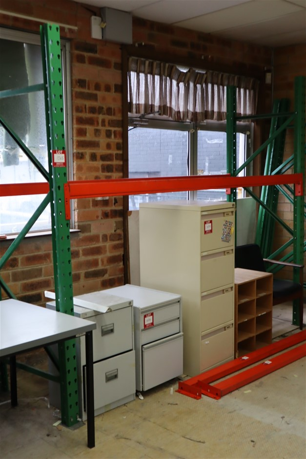 6 x Bays and Quantity of Disassembled Macrack H Pallet Racking