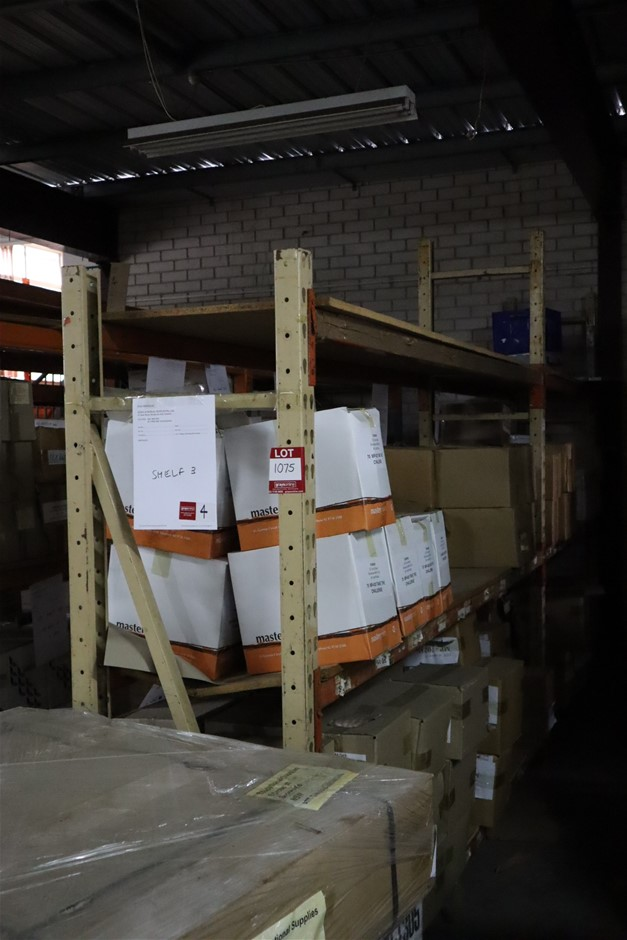 2 x Bays Colby Pallet Racking