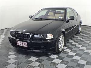 2002 BMW 3 25ci E46 Manual Coupe