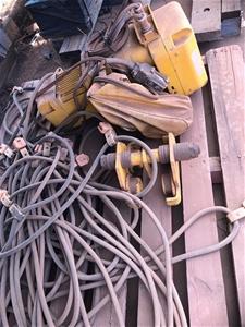 PWB Anchor 1000kg Overhead Chain Hoist C