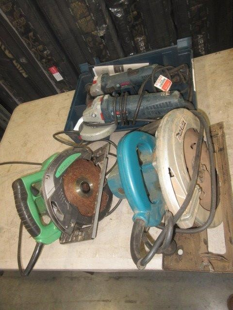 4 x 240V Electric Power Tools