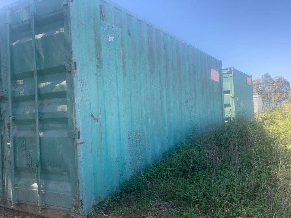 6.3m x 2.4m Plumbers Container - Western