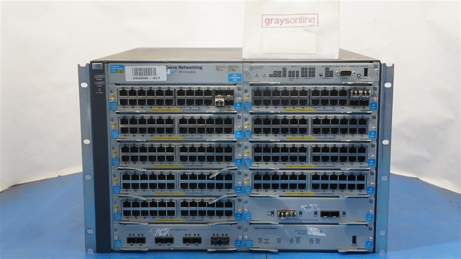 HP ProCurve Switch Chassis 5400zL Series J8698A
