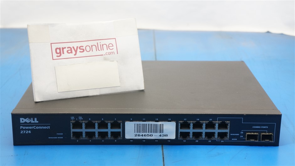 Dell PowerConnect 2724 Switch