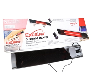 EXCELAIR Indoor/outdoor Infrared Wall Mo