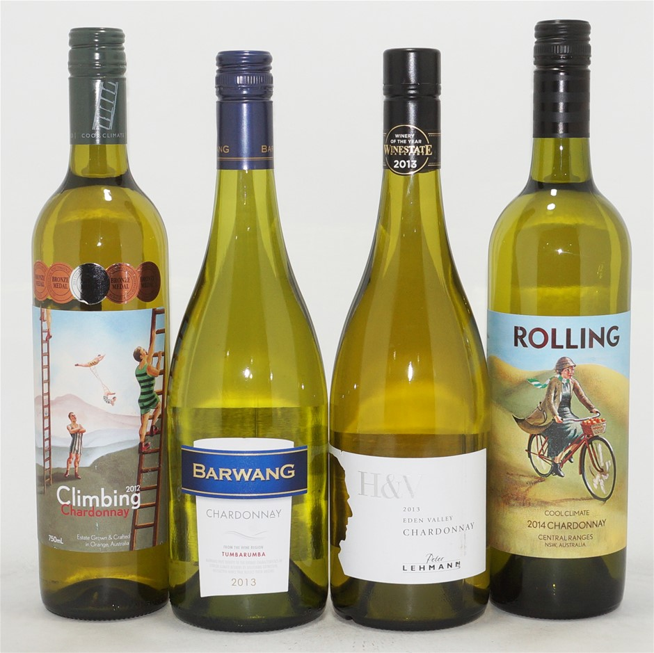 Pack of Assorted Chardonnay (4x 750mL)