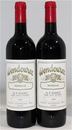 Wendouree Shiraz 2000 (2x 750ml), Clare.  closure.