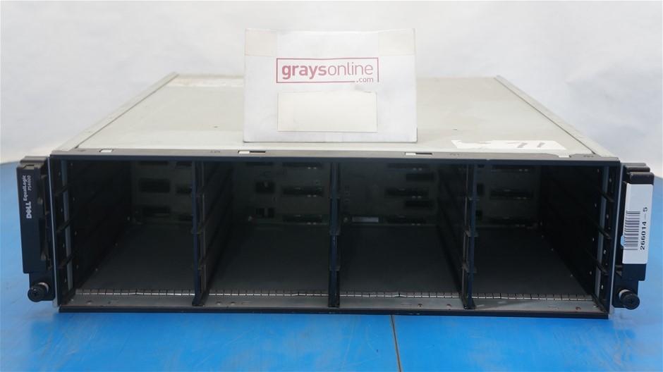 Dell EqualLogic PS4000 iSCSI Storage Array (No Hard Drives)