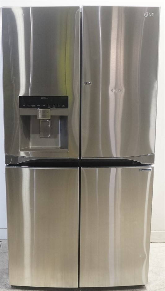 LG 712L Stainless Steel 5 Door Refrigerator with Door-In-Door (GF-5D712SL)