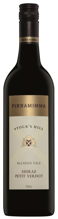 Pirramimma Stocks Hill Shiraz Petit Verdot 2015 (12 x 750mL) McLaren Vale