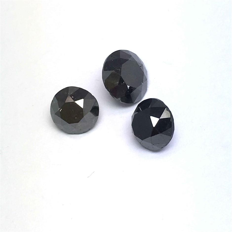 Three Loose Diamond 5.16ct in Total