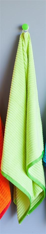 Shine Bath Towel - Green (Set of 2)