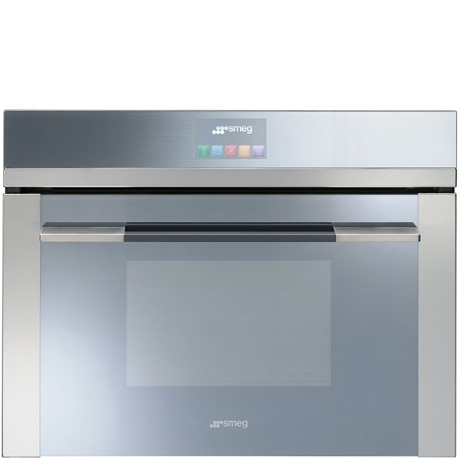 Smeg 60cm Touch Screen Linear Compact Combi-Steam Oven - Model SFA4140VC